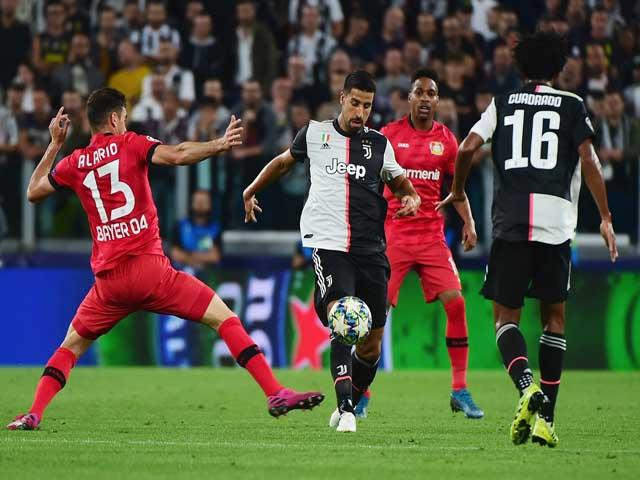 """Bóng đá cúp C1 Juventus - Leverkusen: Ronaldo lập công, tam tấu """"lên đồng"""""""