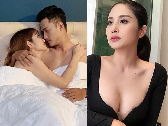 """Vợ cũ Phan Thanh Bình vướng tin đồn """"phim giả tình thật"""" vì diễn """"cảnh nóng"""" táo bạo"""