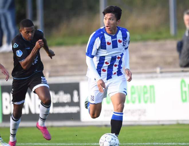 """Văn Hậu đá trọn 90 phút """"gây sốt"""", sắp lọt vào mắt xanh HLV Heerenveen? - 1"""
