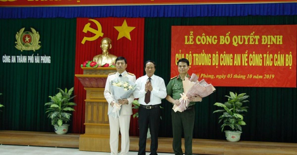 Giám đốc Công an tỉnh Hải Dương về làm Giám đốc Công an TP Hải Phòng và ngược lại - 1