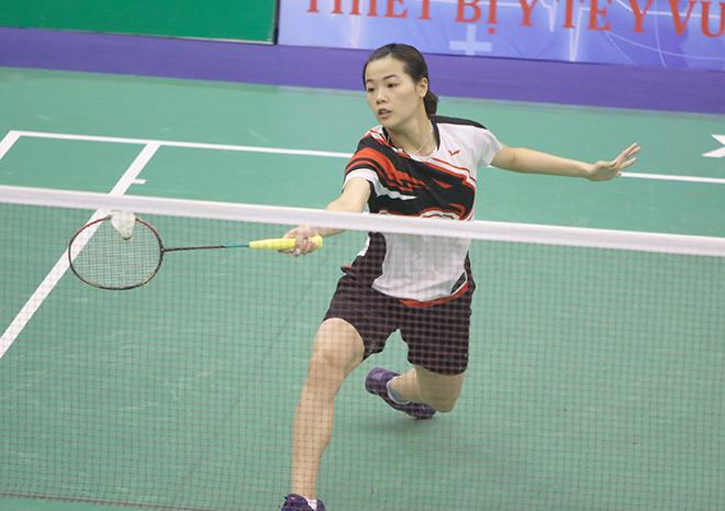 """""""Hoa khôi cầu lông"""" Thùy Linh thắng đối thủ nhiều duyên nợ ở giải quốc tế - 1"""