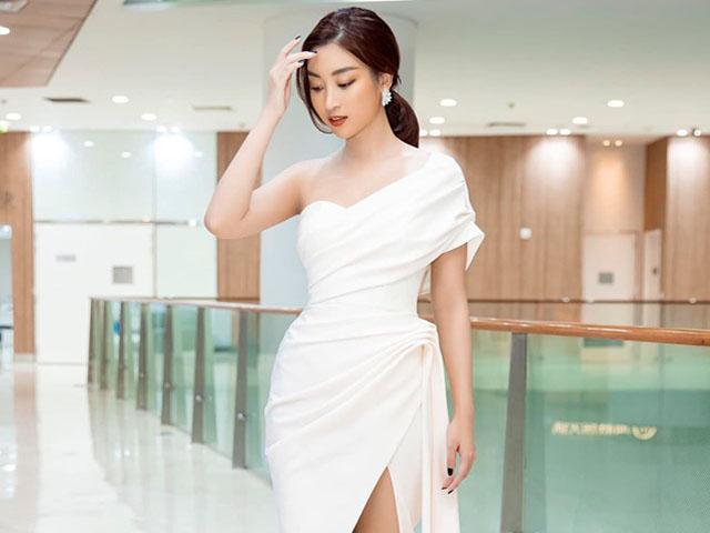 Top đẹp tuần: Đỗ Mỹ Linh, Hoàng Thùy ghi điểm với váy đơn sắc