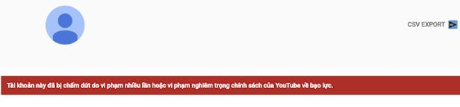 Dương Minh Tuyền lần thứ 2 bị khóa kênh Youtube hơn 600.000 lượt theo dõi - 1