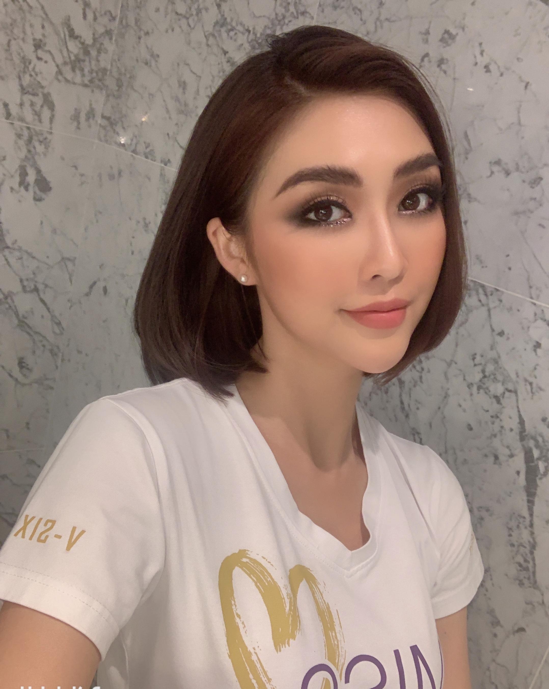 Tường Linh lên tiếng khi bị chỉ trích dùng chuyện tình cảm để PR tại Hoa hậu hoàn vũ VN - 1