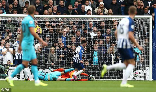 Video highlight trận Brighton - Tottenham: Họa vô đơn chí, kỷ lục sao mai (Vòng 8 Ngoại hạng Anh) - 1