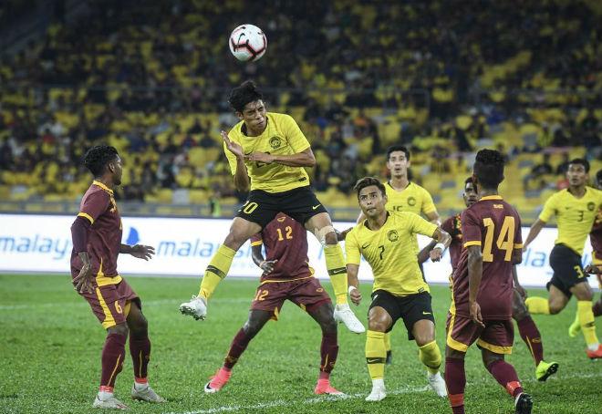 """Malaysia vùi dập """"nhược tiểu"""" 6-0, tự tin """"sát thủ"""" tỏa sáng hạ Việt Nam - 1"""