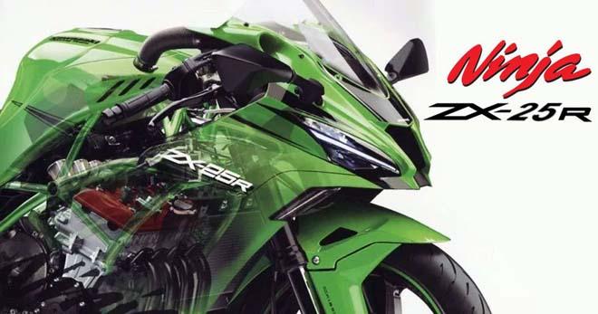 """Kawasaki Ninja ZX-25R chốt ngày ra mắt: Sẵn sàng """"phá đảo"""" phân khúc sport-bike cỡ nhỏ - 1"""