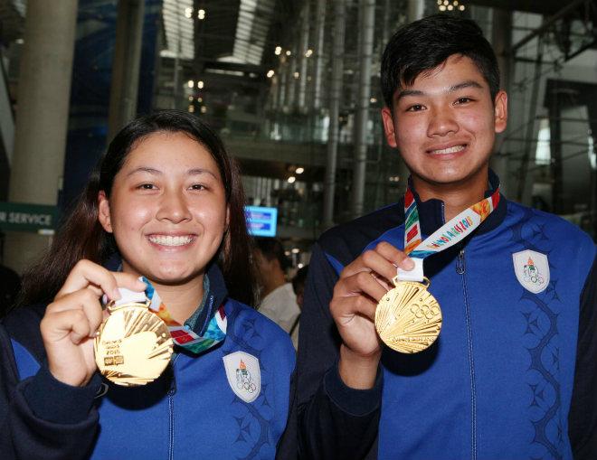"""Săn vàng SEA Games 30: Thái Lan """"càn quét"""" huy chương môn quý tộc - 1"""