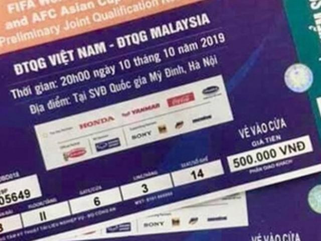 Lãnh đạo Bộ VHTT&DL cũng… chưa có vé xem trận Việt Nam – Malaysia(?)