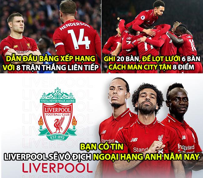 Năm nay Liverpool không vô đich NHA thì chờ đến bao giờ nữa?