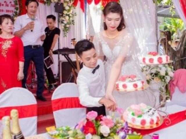 Đám cưới chú rể 1m4, cô dâu 1m94: Người trong cuộc lên tiếng