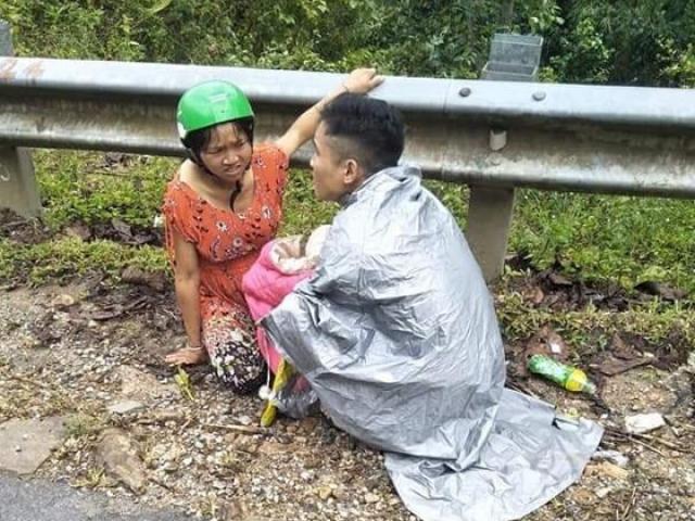 Sản phụ sinh con giữa đường, người chồng trở thành bà đỡ bất đắc dĩ