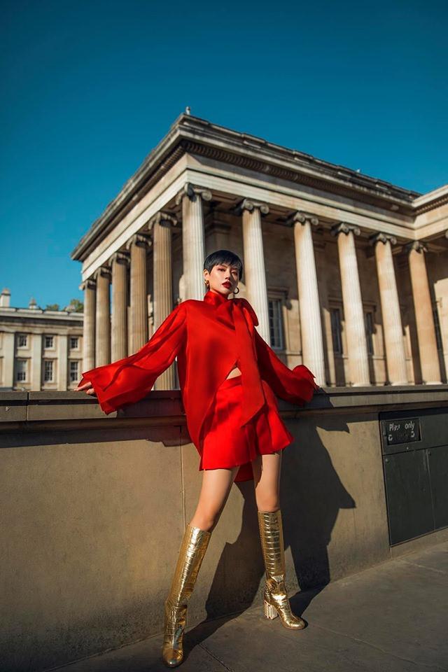 """Châu Bùi, Khánh Linh tại Fashion Week: Mặc """"chất"""" hơn cả siêu sao - 6"""