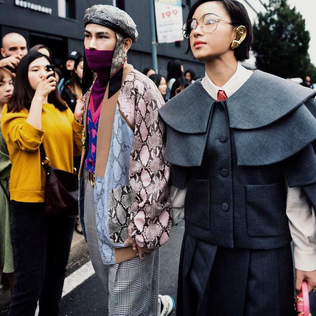 """Châu Bùi, Khánh Linh tại Fashion Week: Mặc """"chất"""" hơn cả siêu sao - 1"""