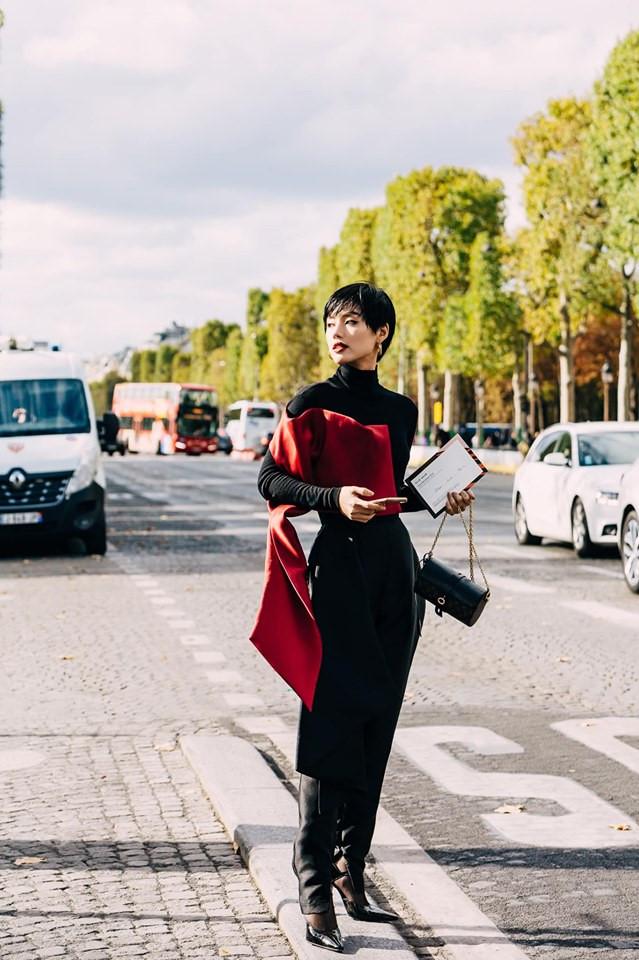 """Châu Bùi, Khánh Linh tại Fashion Week: Mặc """"chất"""" hơn cả siêu sao - 8"""