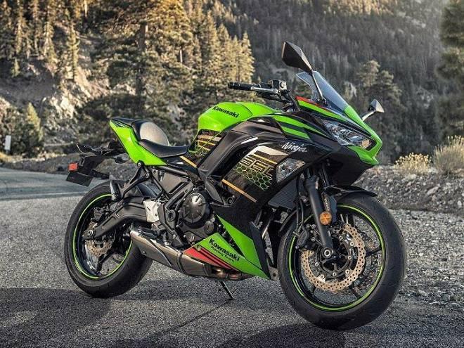 Kawasaki Ninja 650 2020 nâng cấp toàn diện, tùy chọn màu mới - 1
