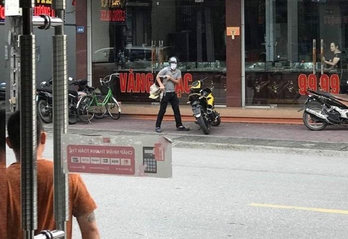 Nghi phạm nổ súng cướp tiệm vàng táo tợn ở Quảng Ninh bị bắt - 1
