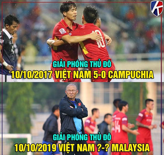 """Người hâm mộ tự tin Việt Nam sẽ đánh bại Malaysia trong ngày """"giải phóng thủ đô'."""