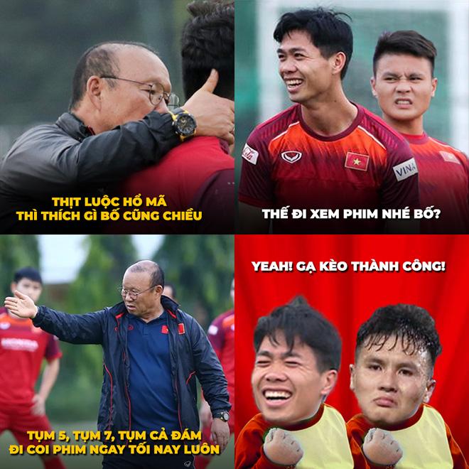 Mạng xã hội hừng hực khí thế chế ảnh cổ vũ Việt Nam đấu Malaysia - 1