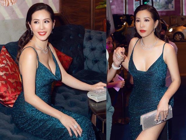 Hoa hậu Thu Hoài nóng bỏng ở tuổi 43