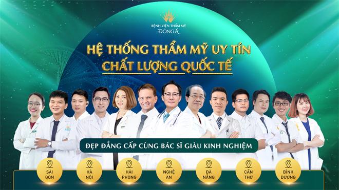 Làm đẹp chất lượng quốc tế cùng bác sĩ tại hệ thống bệnh viện thẩm mỹ Đông Á toàn quốc - 1
