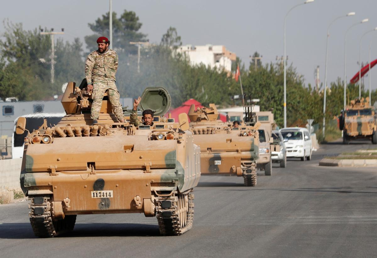 Diễn biến mới nhất cuộc tấn công của Thổ Nhĩ Kỳ tại Syria - thảm họa đang xảy ra - 1