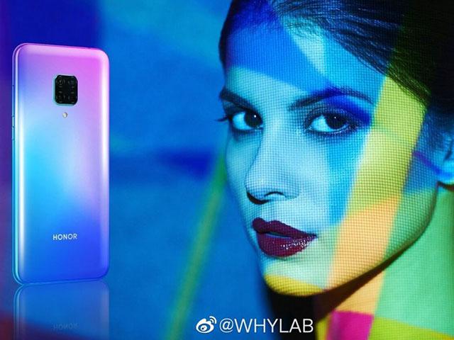 Honor V30 Pro lộ diện với camera khủng hơn Mate 30 Pro, hỗ trợ 5G, chip Kirin 990