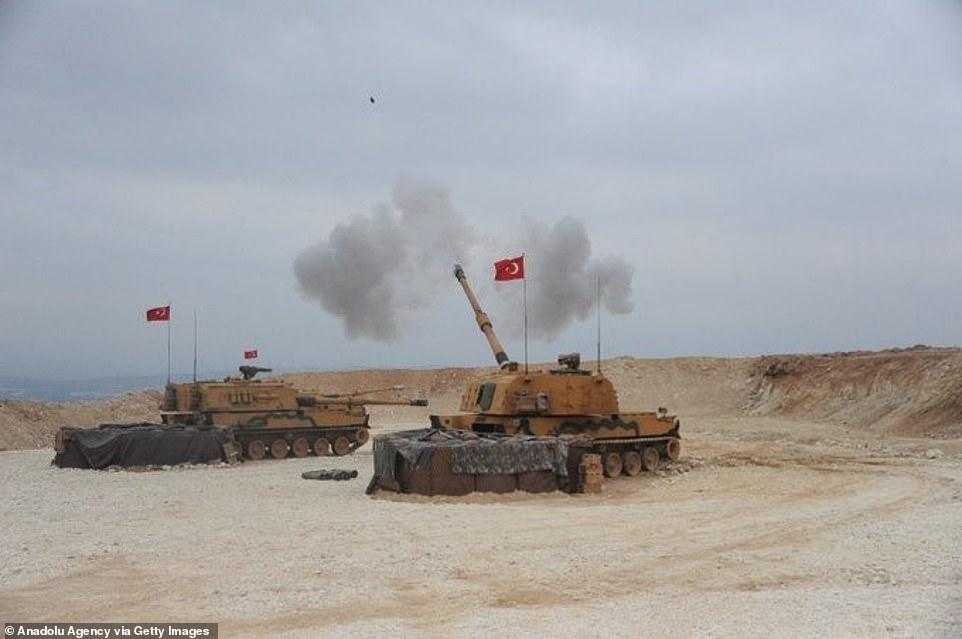 """Mải nã pháo vào người Kurd, Thổ Nhĩ Kỳ suýt nữa """"đồ sát"""" cả quân Mỹ - 1"""