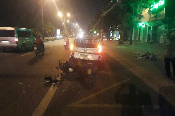 Hà Tĩnh: Nghi vấn công an thả xe tai nạn sai quy định - 1