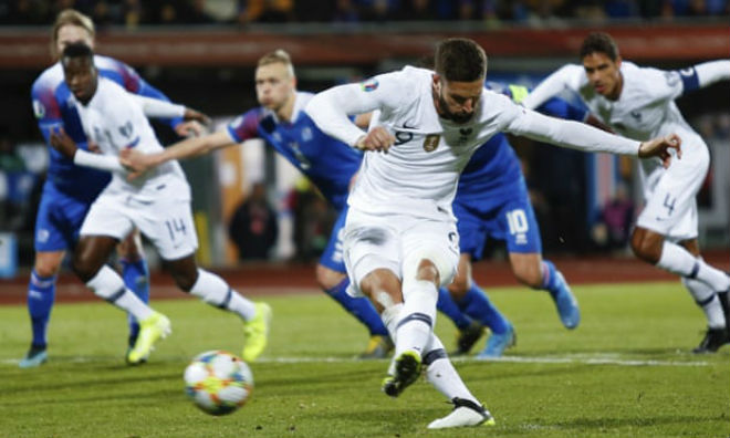 "Video highlight trận Iceland - Pháp: ""Vận son"" Griezmann, khoảnh khắc oan nghiệt - 1"