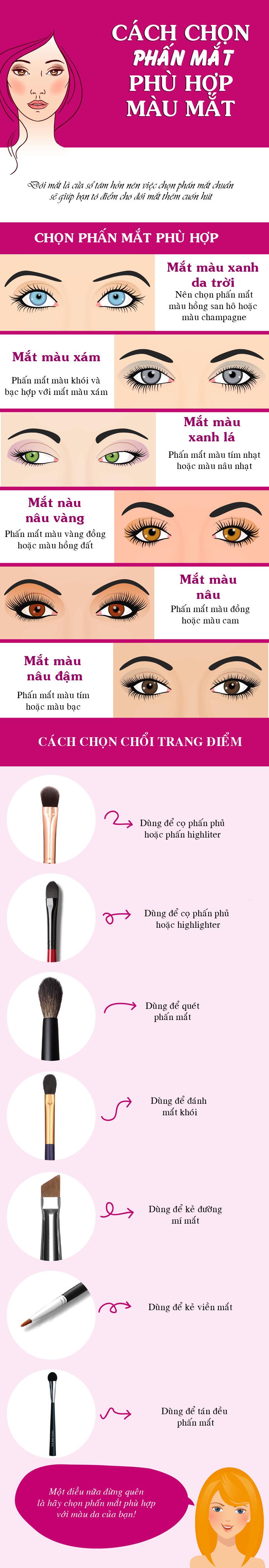 Tips chọn phấn mắt phù hợp màu mắt không phải ai cũng biết - 1