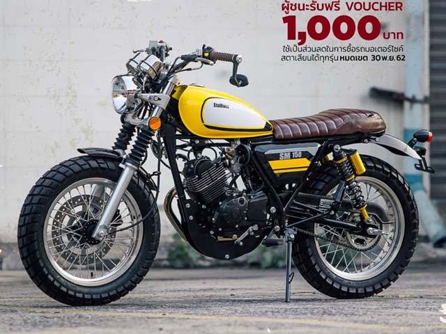 Xế cổ Stallions SM 150 ra mắt - giá chỉ từ 38 triệu đồng