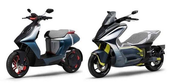 Soi hai mẫu xe ga điện sắp ra mắt của Yamaha, nhắm tới phân khúc 50 và 125 cc - 1