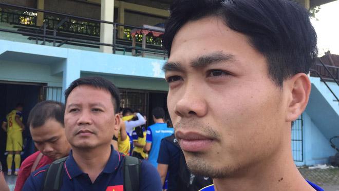 """""""Im tiếng"""" trước Malaysia, Công Phượng nói gì trước trận gặp Indonesia? - 1"""