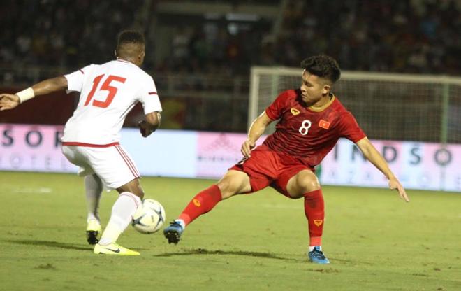 Video highlight trận U22 Việt Nam - U22 UAE: 3 phút 2 bàn, hú hồn phút cuối - 1