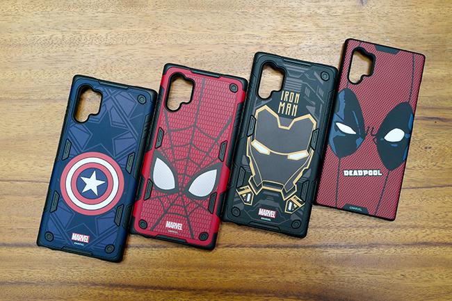 Đây là những sản phẩm có sự hợp tác với hãng Marvel của Disney.