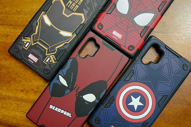 Không chỉ Note10+ mà Samsung còn từng làm ốp Marvel cho nhiều dòng smartphone khác.