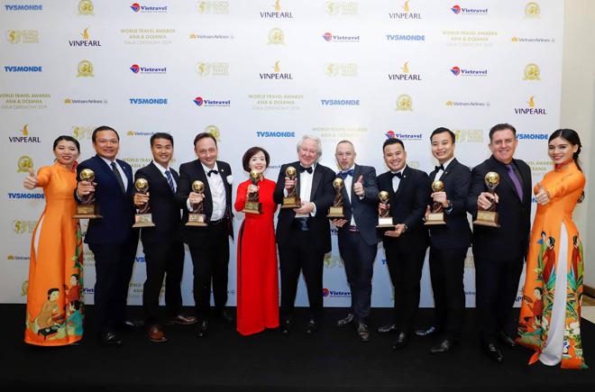 Dẫn đầu 9 hạng mục, Vinpearl đạt kỷ lục tại giải thưởng Du lịch thế giới châu Á và châu Đại Dương - WTA 2019 - 1