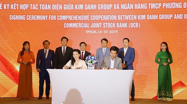 Kim Oanh Group hợp tác chiến lược với OCB, CornerStone Việt Nam và Trung Hậu - 1