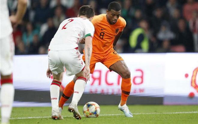 Video highlight trận Belarus - Hà Lan: SAO Liverpool rực rỡ cú đúp - 1