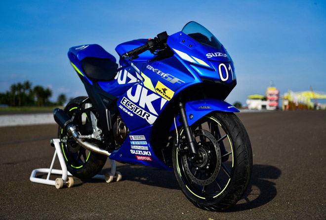 Lộ diện Suzuki Gixxer SF 250 MotoGP, đẹp hút mọi ánh nhìn - 1