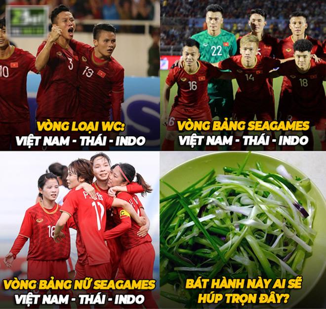 """Việt Nam, Thái Lan và Indonesia """"tam ca tranh tài"""" mọi giải đấu - 1"""