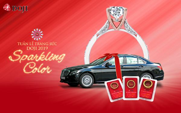 Tuần lễ Trang sức DOJI 2019: Mua kim cương tặng tới 500 triệu đồng - Trúng Mercedes C250 - 1