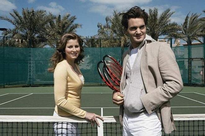 """Federer đào hoa từ trẻ: Lần đầu gặp đã khiến mỹ nhân trao """"thứ quý giá"""" - 1"""