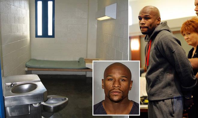 """Mayweather khổ hạnh trong tù, mỗi ngày nộp 11 triệu đồng cho """"đại ca"""" - 1"""