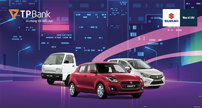 TPBank và Suzuki hợp tác cho vay mua ô tô chỉ với 0% lãi suất - 1