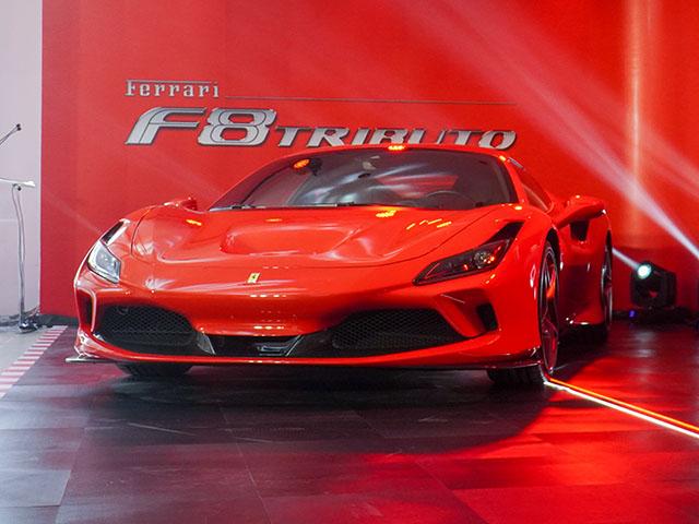 Ferrari chính thức khai trương showroom đầu tiên tại Việt Nam