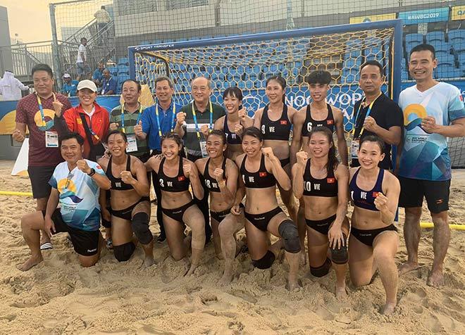 Bóng ném nữ Việt Nam đấu Brazil, tranh huy chương World Cup 2019 - 1