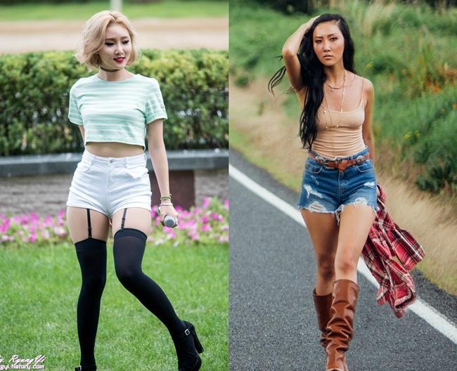 Hwasa luôn đi ngược lại với chuẩn mực của phụ nữ Hàn Quốc, từ nhan sắc đến trang phục biểu diễn.