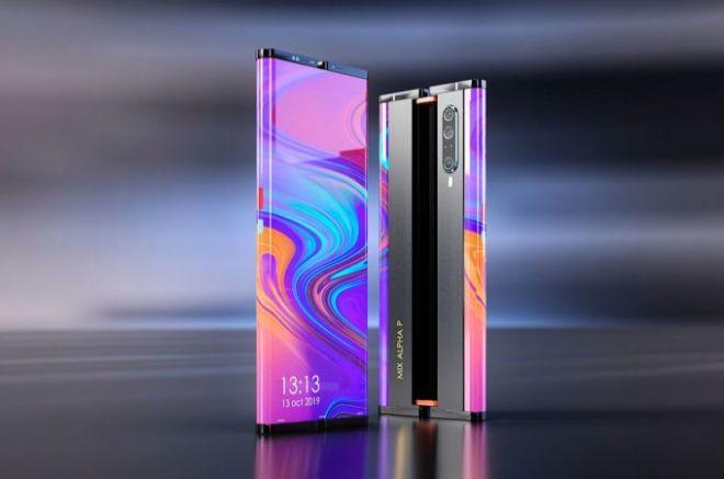 Xiaomi Mi MIX Alpha 2 cuộn lại như trong phim, ngoài sức tưởng tượng - 1